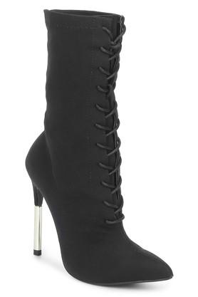 TRUFFLE COLLECTION Womens Party Wear Lace Up Boots