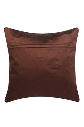 Square Solid Embellished Cushion Cover