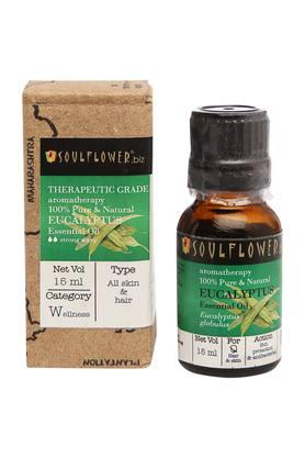 SOULFLOWER Eucalyptus Essential Oil - 15 Ml