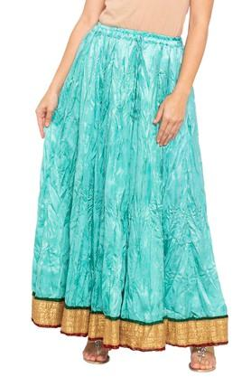 SOCH Womens Solid Long Skirt