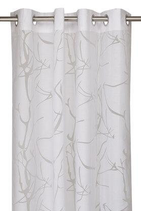 Wallace Self Pattern Sheer Window Curtain
