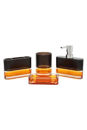 Colour Block Bath Set of 4