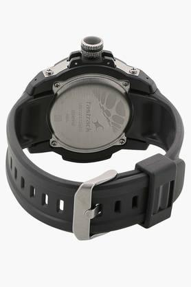 Grey Dial Plastic Strap Watch - 9334PP06J