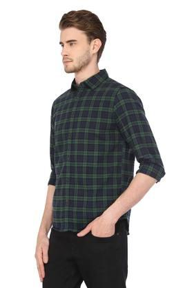 Mens Comfort fit Checked Casual Shirt