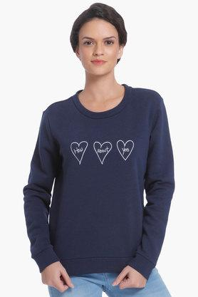 ONLY Womens Round Neck Printed Sweatshirt - 203326223_8786