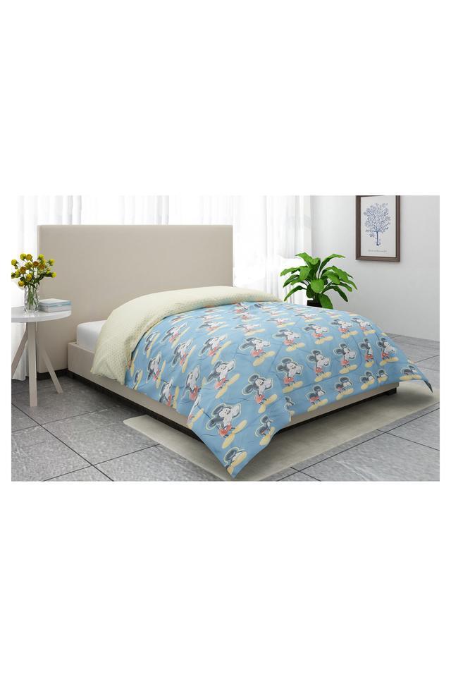 Mickey Mouse Print Single Comforter