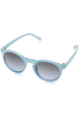 FASTRACKMens Full Rim UV Protected Lens Round Sunglasses - P383BU4