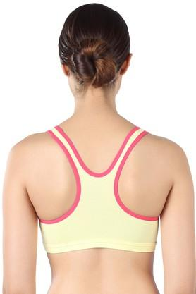Womens Non Padded Non Wired Sports Bra