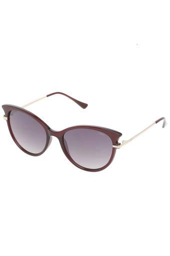 Womens Gradient and UV protected Lens Cat Eye Sunglasses - IDS2493C3SG
