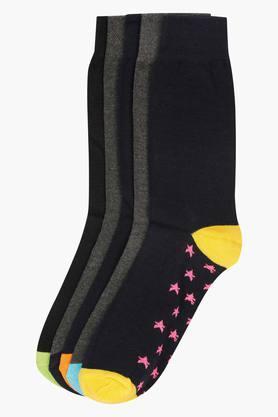 STOPMens Solid Socks Pack Of 5