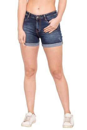 ff05f8fedd70f Buy Capris & shorts For Womens Online | Shoppers Stop