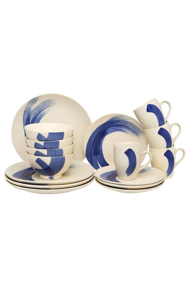 Ballet Printed Breakfast Set of 16