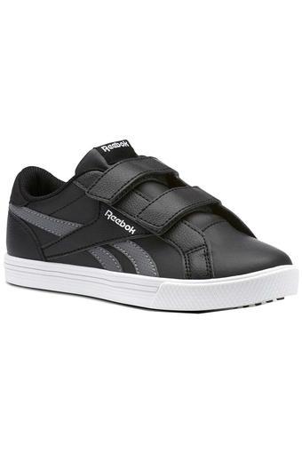 Unisex Leather Velcro Closure Sneakers