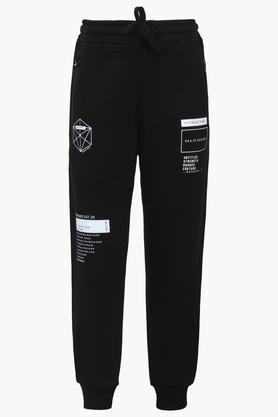Boys 3 Pocket Graphic Print Track Pants