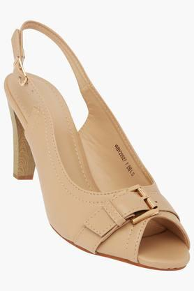 VAN HEUSEN Womens Casual Wear Buckle Closure Heels - 203155344