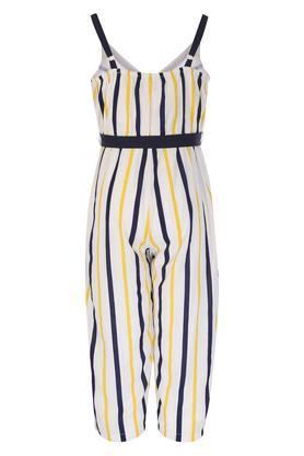 6d083e253b51 X NAUTI NATI Girls Spaghetti Neck Striped Jumpsuit