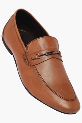 VETTORIO FRATINIMens Leather Slipon Loafers - 203064458_9124