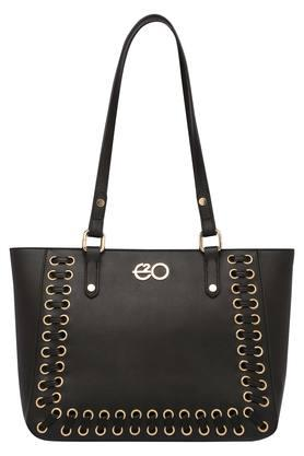 E2O Womens Zipper Closure Tote Handbag - 203783171_9212
