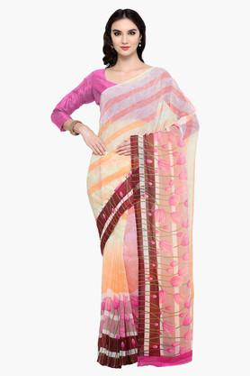 DEMARCA Womens Faux Georgette Printed Saree - 203229619