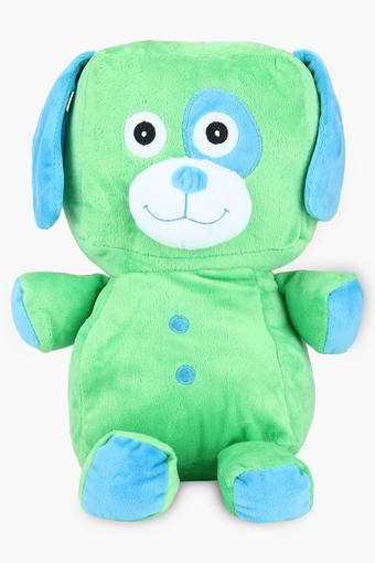 Kids Standing Saint Bernard Dog Plush Soft Toy