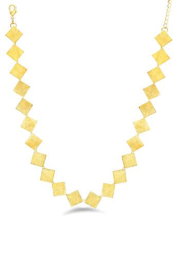 Womens Geometric Chain Necklace