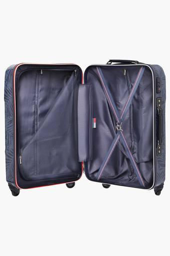 Unisex 1 Compartment Zipper Closure Hard Trolley