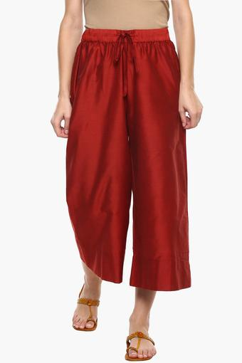 IMARA -  MaroonCapris & Shorts - Main