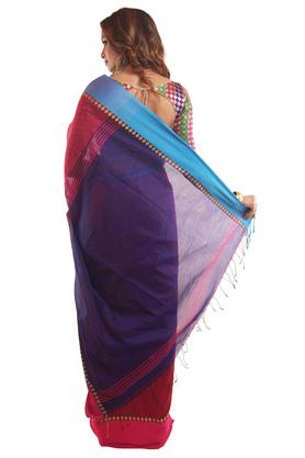 Women Solid Saree
