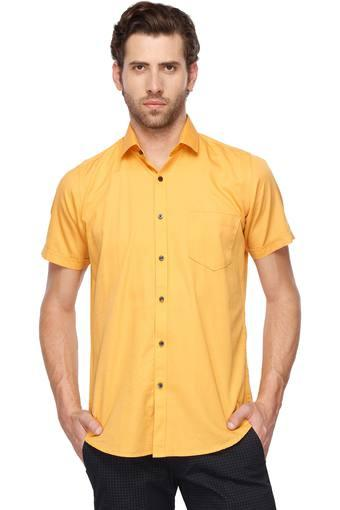 EASIES -  Yellow Casual Shirts - Main