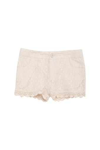 Girls Lace Casual Shorts