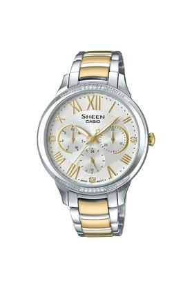 95129aa05704 X CASIO Womens Analogue Stainless Steel Watch