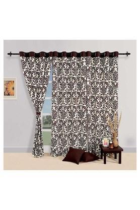 Printed Long Door Curtain