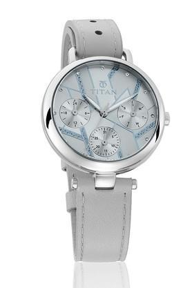 TITANWomens Purple Whimsy Grey Dial Multifunction Watch 95079SL01