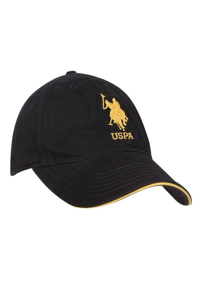 Mens Solid Embroidered Cap