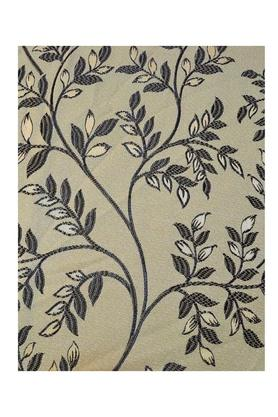 Leaf Printed Polyester Door Curtain
