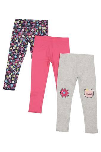 e0b116841e75e Buy MOTHERCARE Girls Floral Print Casual Leggings | Shoppers Stop
