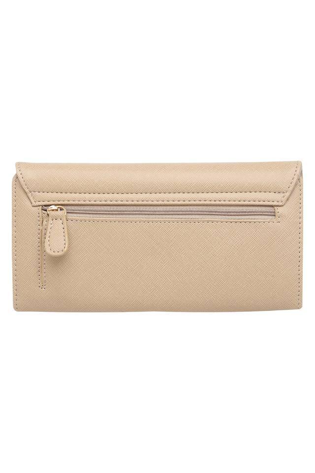 Womens Casual Wear Snap Closure 2 Fold Wallet