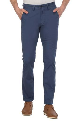PETER ENGLAND -  Light Blue Cargos & Trousers - Main