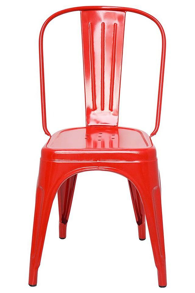 Red Stylo Chairs Set of 2