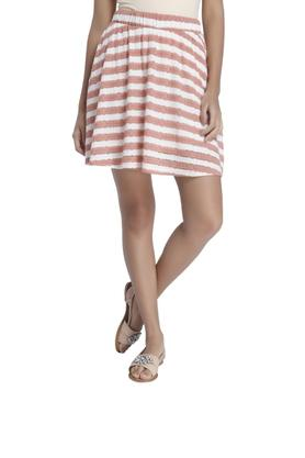 VERO MODA Womens Stripe Short Skirt