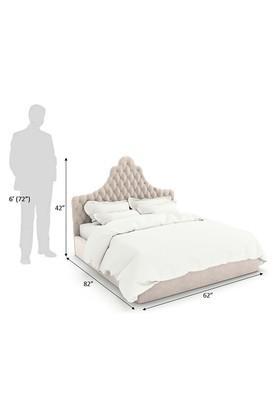 Beige Bolzan Bed