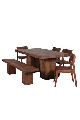 Brown Dino Dining Set