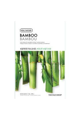 Real Nature Bamboo Face Mask