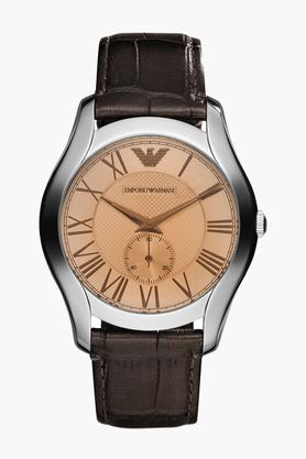 Mens Analogue Leather Watch - AR1704