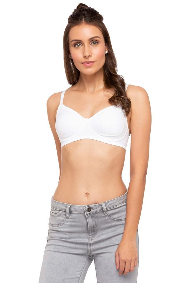 Womens Solid Non Wired Padded T-Shirt Bra