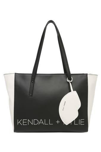 8495838d2a98 Buy KENDALL + KYLIE Womens Zip Closure Tote Handbag