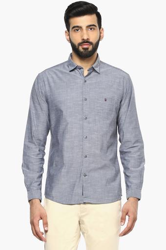 LOUIS PHILIPPE SPORTS -  Light GreyCasual Shirts - Main