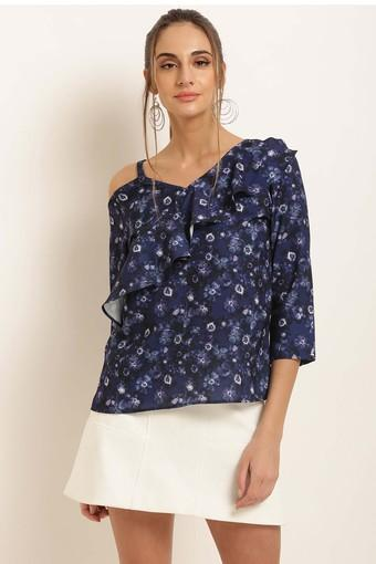 MARIE CLAIRE -  NavyTops & Tees - Main