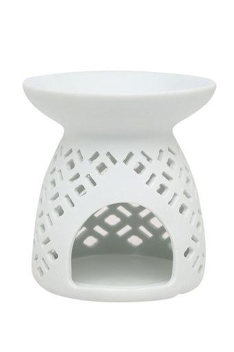 Round Solid Cutwork Oil Burner