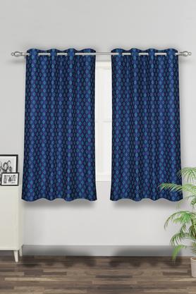 Printed Reversible Window Curtain